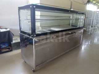 Stainless steel bemmary/ Hot cupboard