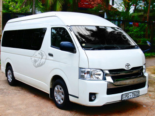 Toyota coaster for hire