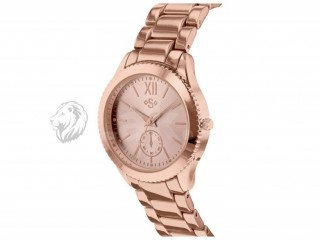 Spirit Ladies' Rose Gold Colour Dial Bracelet Watch