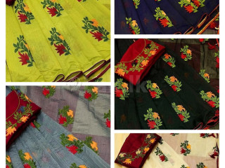 Paper cotton sarees