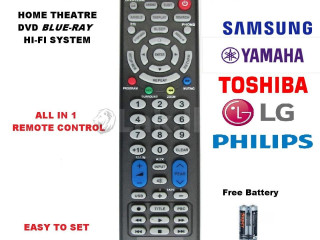 Multi home theater remote