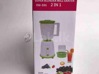 Super blender mill grater