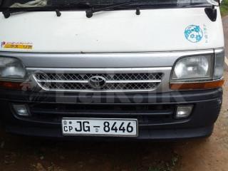 Toyota higroof van