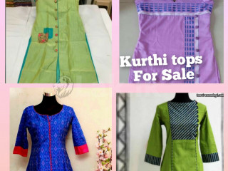 KURTI TOPS FOR SALE AND OTHER CLOTHES